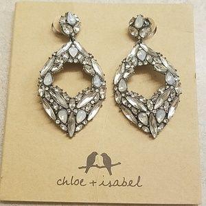 C+I belle statement earrings
